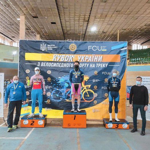 Кубок України з велоспорту на треку. Фото