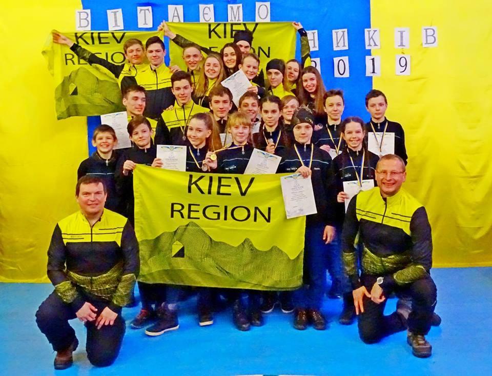 Чемпіонат України зі спортивного орієнтування на лижах.