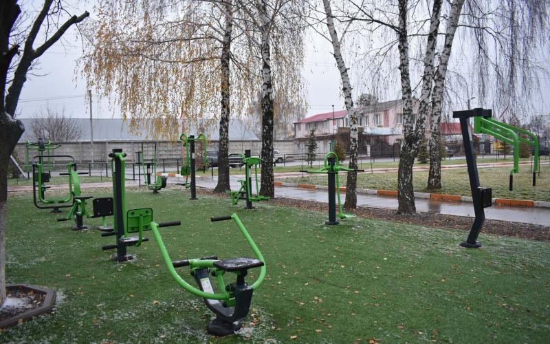 Відкриття спортивних майданчиків в Юрівці та Калинівці. Фото