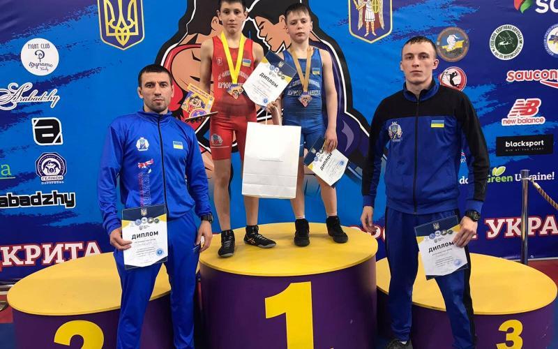 чемпіонат України з греко-римської боротьби U-13, Київ. фото