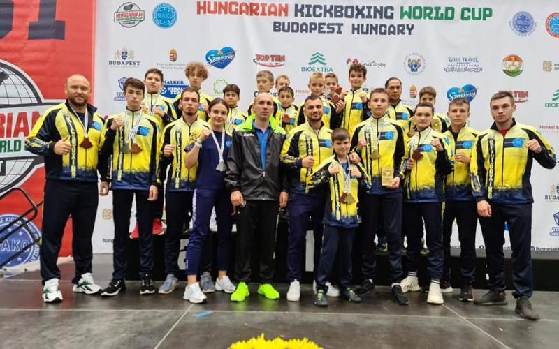 26-й Кубок світу з кікбоксингу WAKO, Будапешт. фото