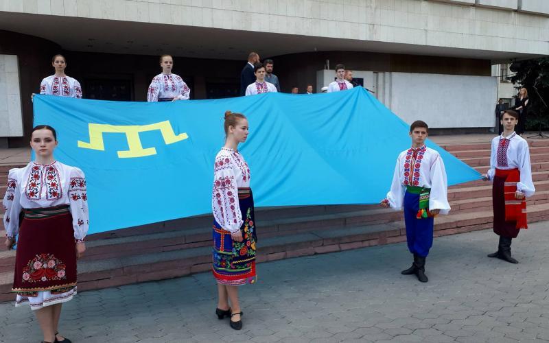 День пам'яті жертв депортації кримських татар, КОДА. Фото