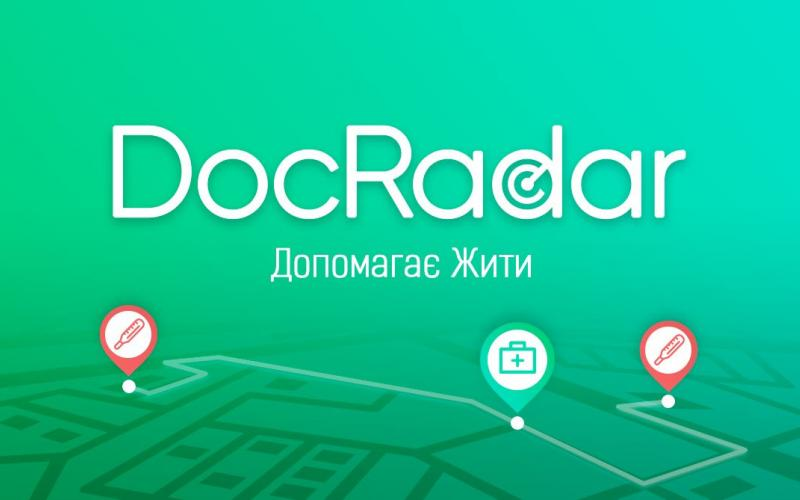 Мобільний додаток Dосrаdar. Зображення