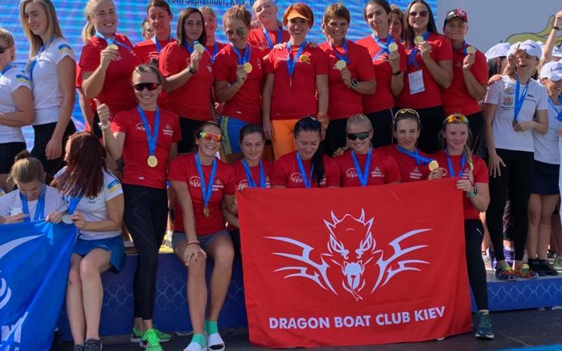 Чемпіонат світу з веслування на човнах Дракон, Київ. Фото