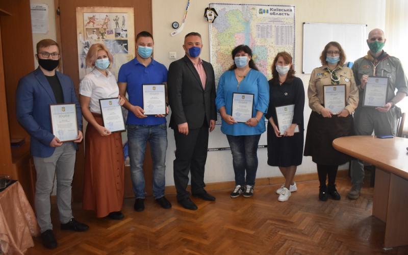 Сергій Тимофєєв вручив подяки Міністерства молоді та спорту. Фото