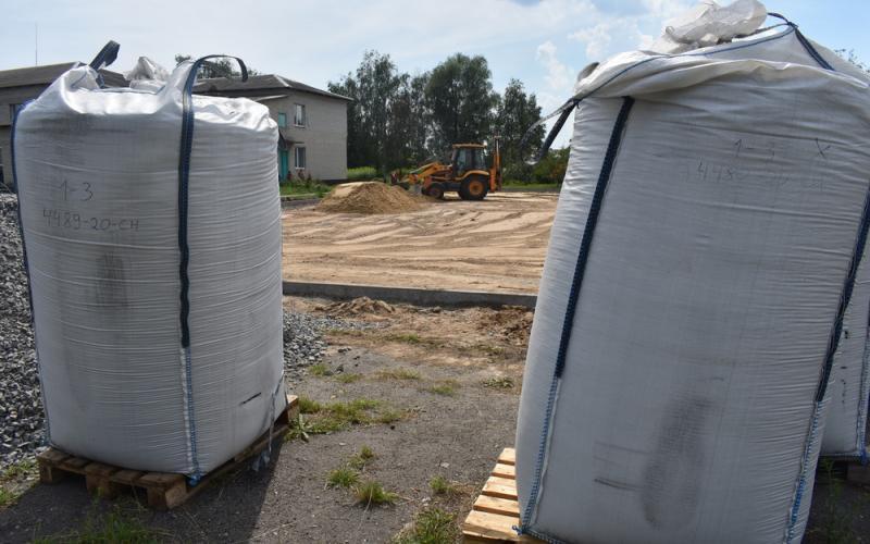обладнання для будівництва спортивних об'єктів. фото