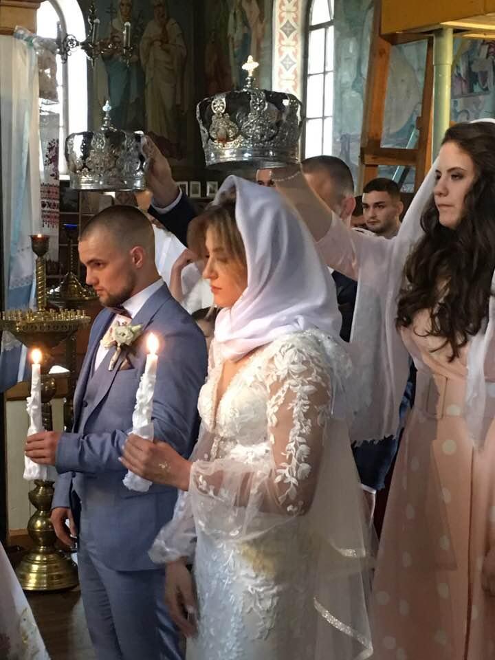 Весілля Аліни Акобії та Олександра Грушина. Фото