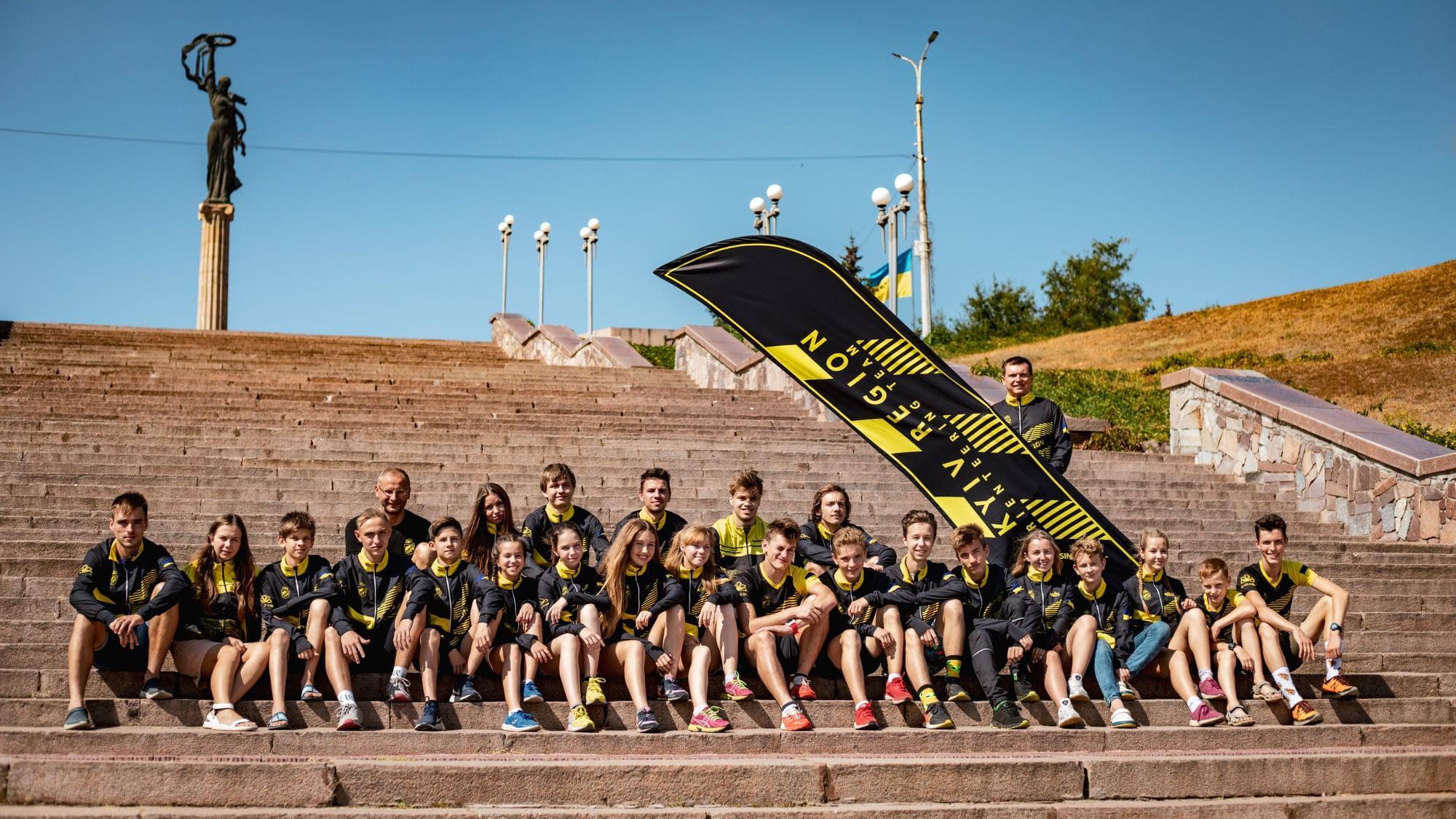 Командний чемпіонат України зі спортивного орієнтування в Олешках. Фото