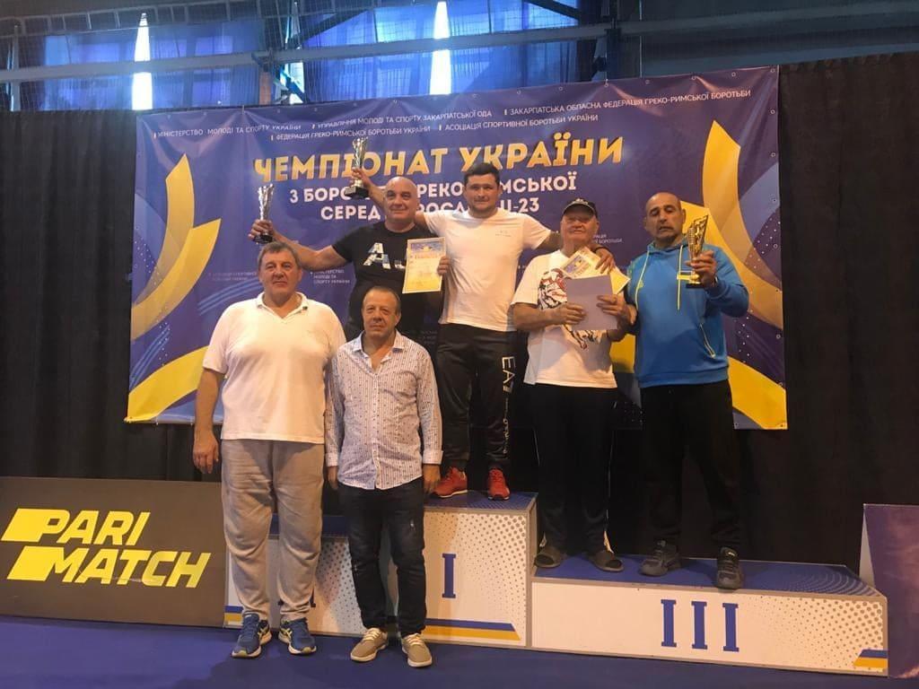 Чемпіонат України з греко-римської боротьби U-23, Ужгород. Фото
