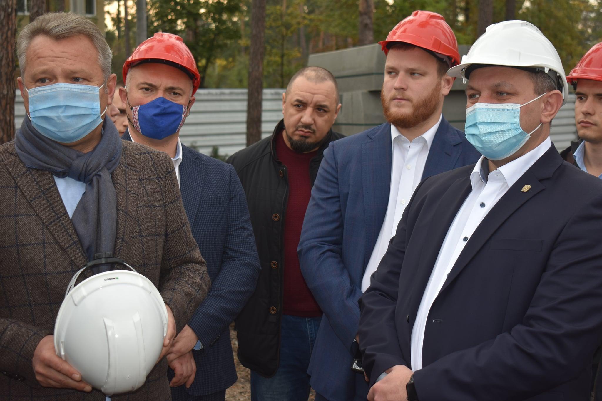 Інспекція Бучанської ОТГ за участю голови КОДА Василя Володіна. Фото