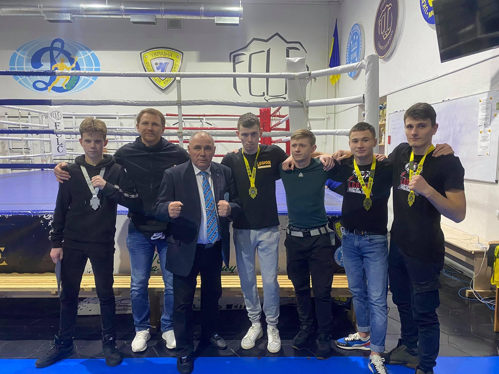 Відкритий турнир міста Рівне з кікбоксингу WAKO. фото