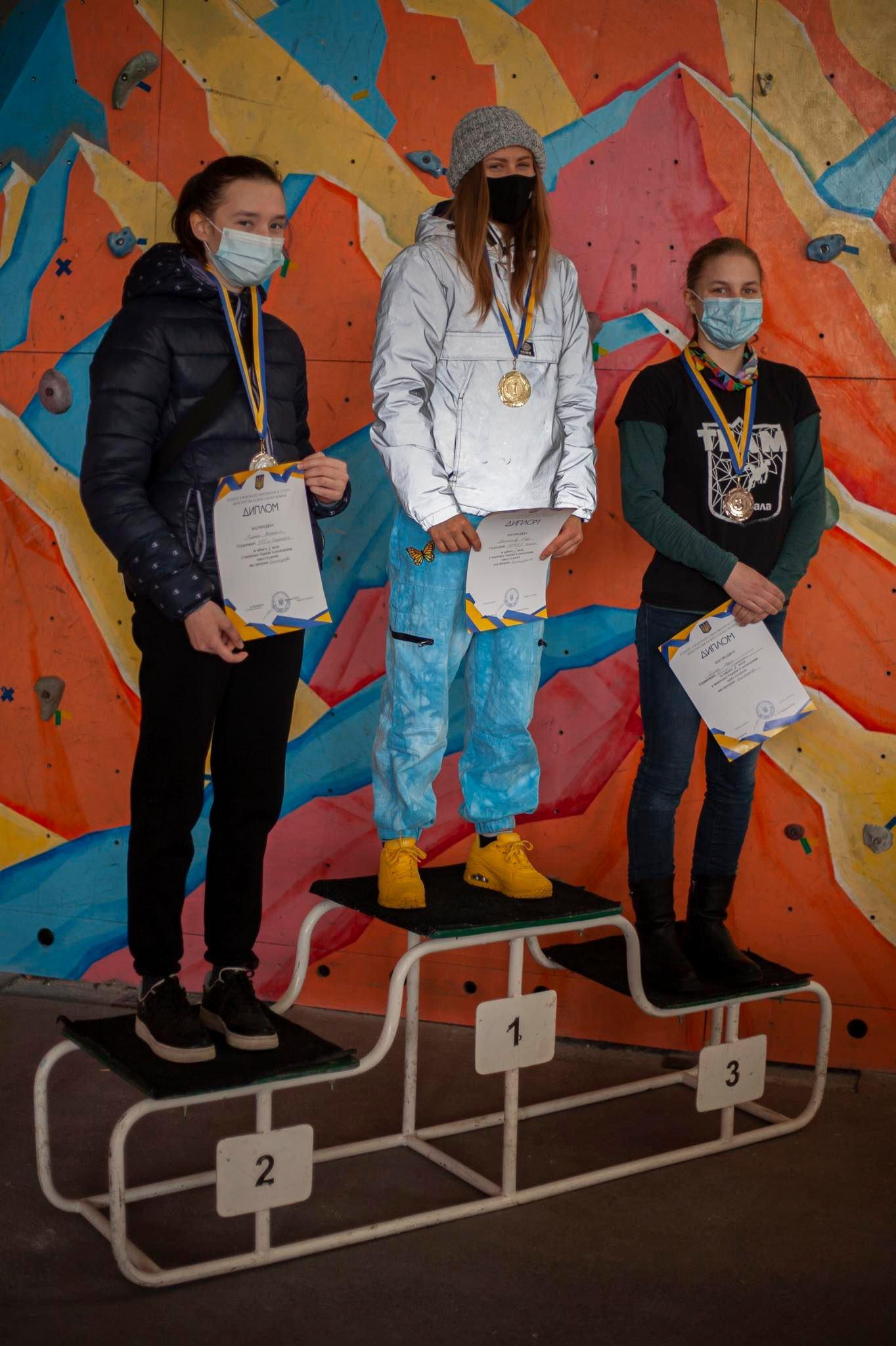 чемпіонат України зі скелелазіння серед студентів. Фото