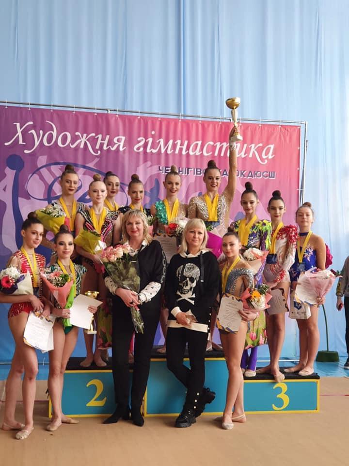 чемпіонат України з гімнастики художньої серед школярів, Чернігів. фото