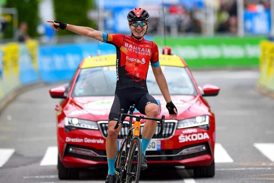 Марк Падун переміг у велогонці Крітеріум ду Дофіне, Франція. фото