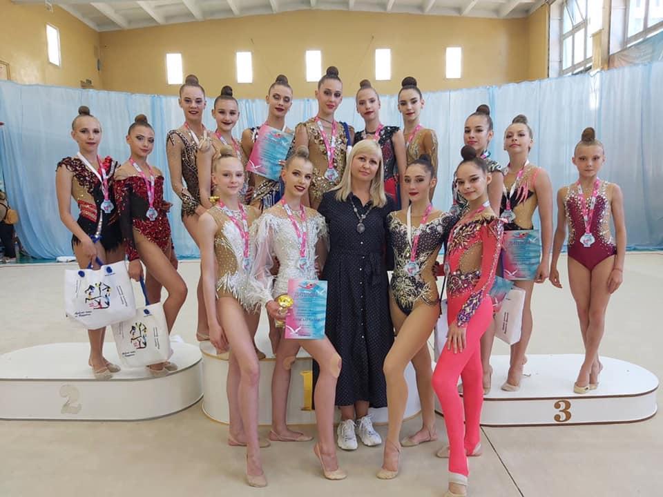 """Всеукраїнський турнір  з художньої гімнастики """"Азовські чайки"""". фото"""
