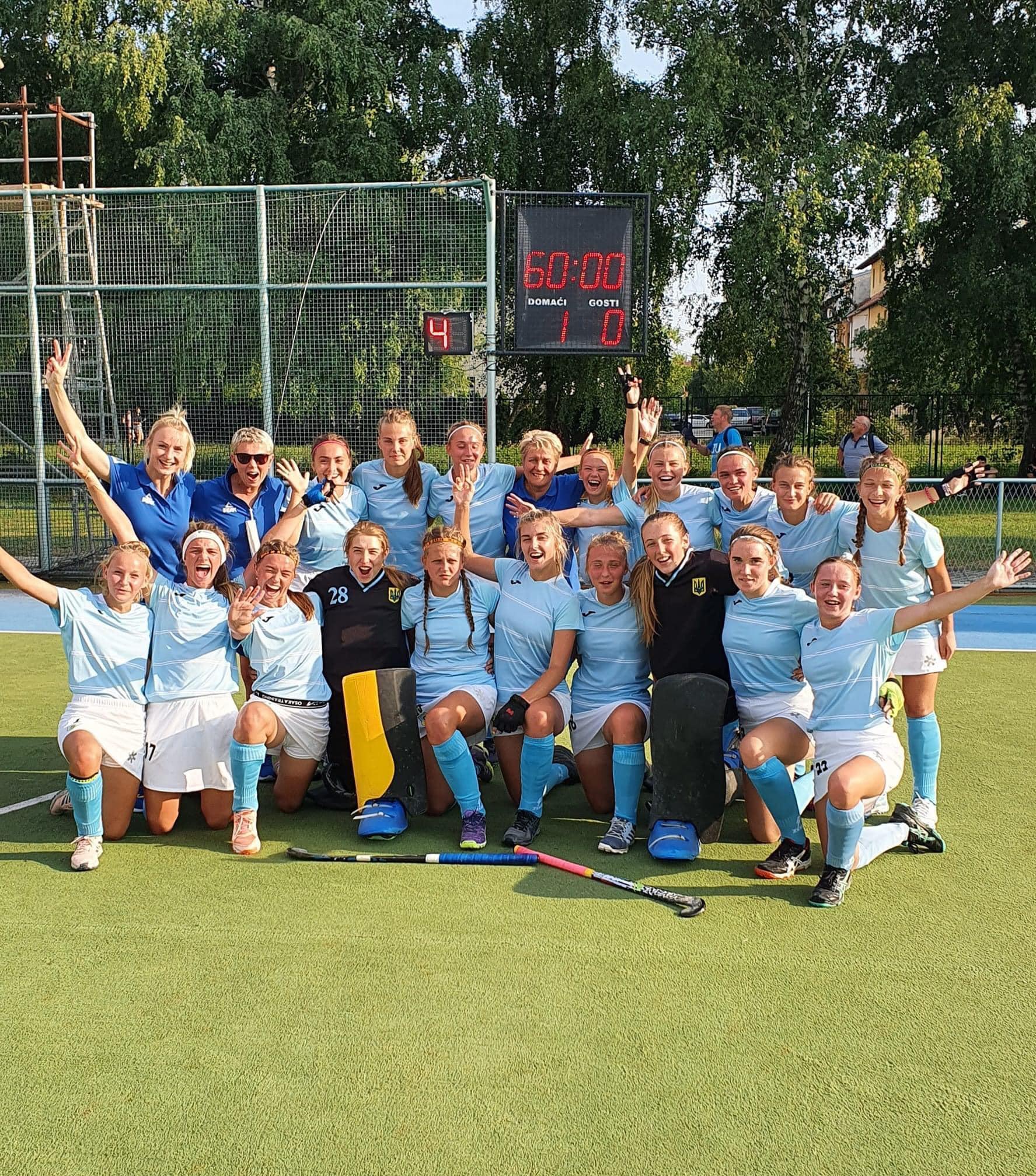 чемпіонату Європи з хокею на траві, Загреб. фото