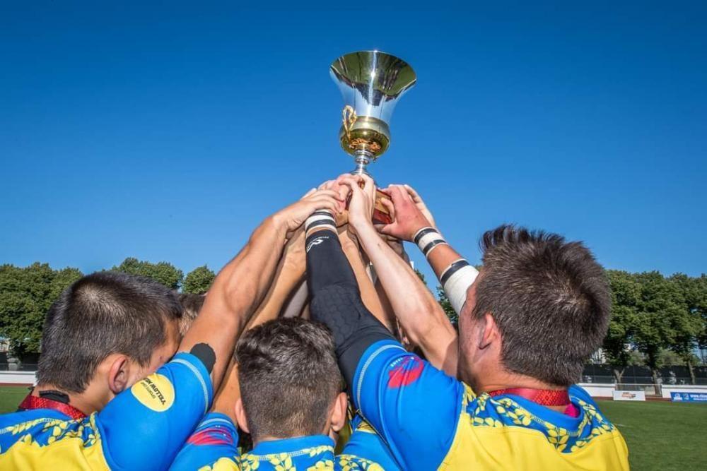 Регбісти Київщини стали чемпіонами Європи у складі національної збірної. фото
