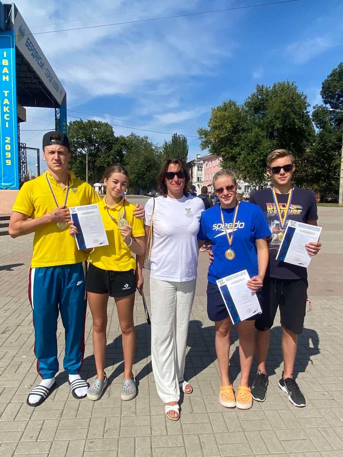 Кубок України з плавання на відкритій воді, Бердянськ. фото