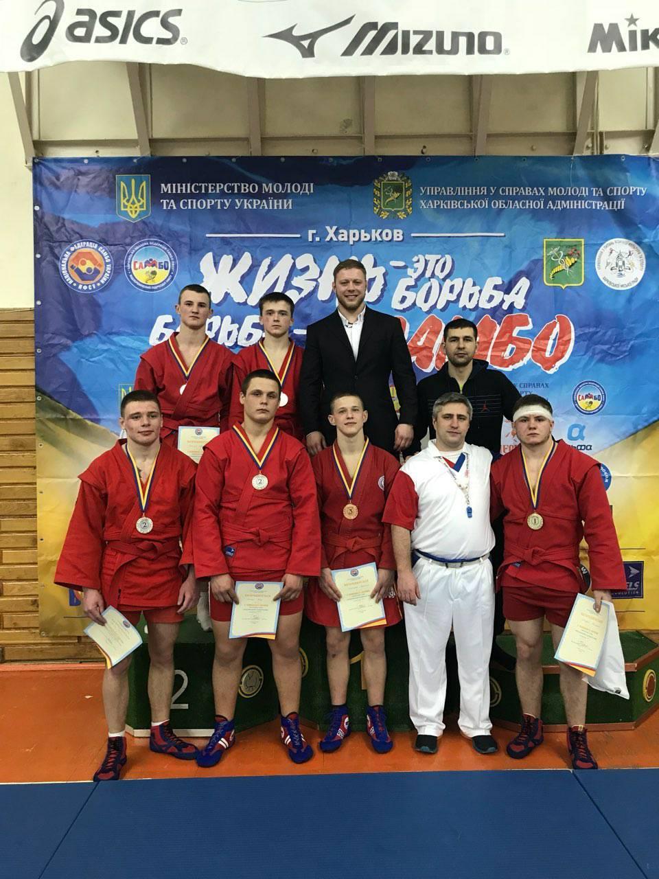 Чемпіонат України з самбо. Фото
