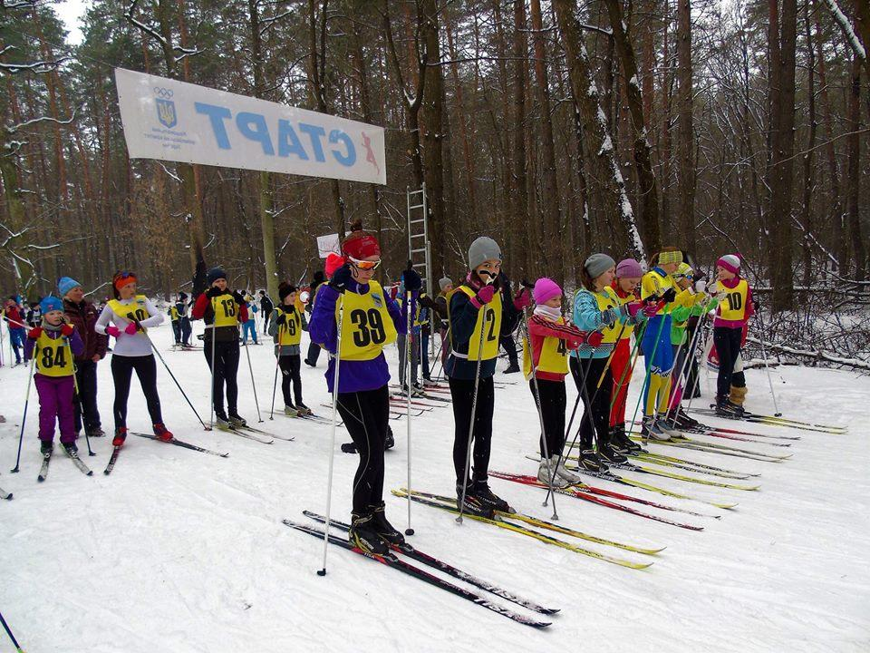 Чемпіонат Київської області з лижних гонок. Фото
