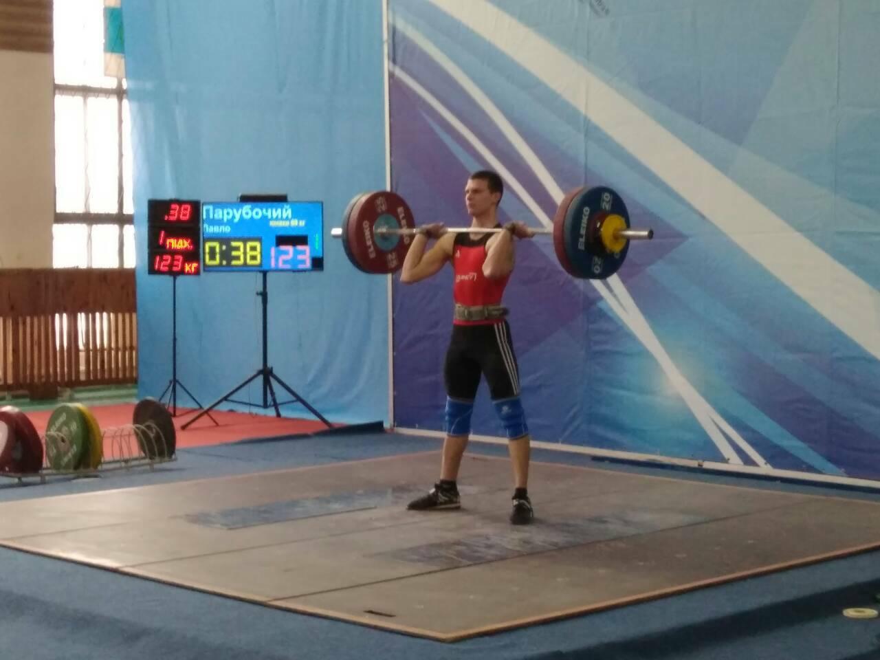 Чемпіонат України з важкої атлетики. Фото