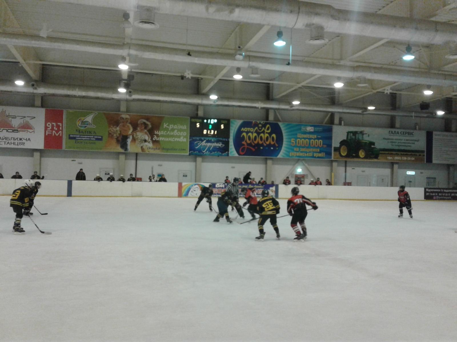 Міжрегіональна дитяча хокейна ліга України, Льодограй. Фото