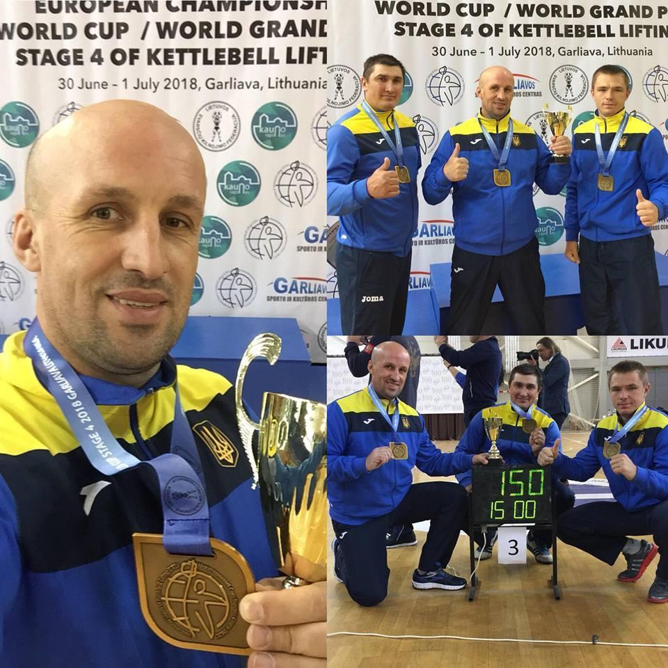 Кубку світу з гирьового спорту, Литва. Фото