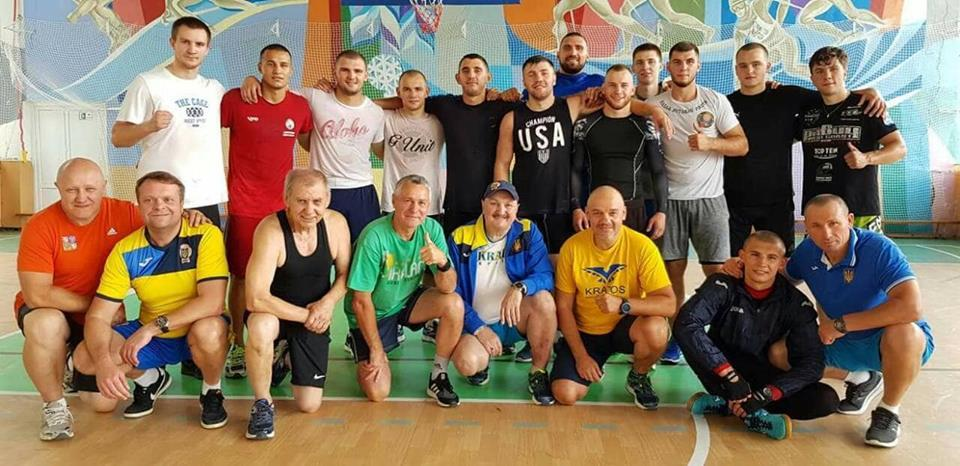 Навчально-тренувальний збір боксерів, Тисовець. Фото