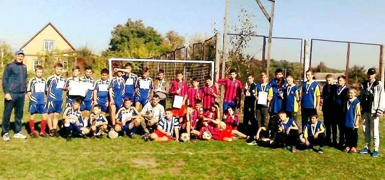 Першість Білоцерківського району з футболу. Фото
