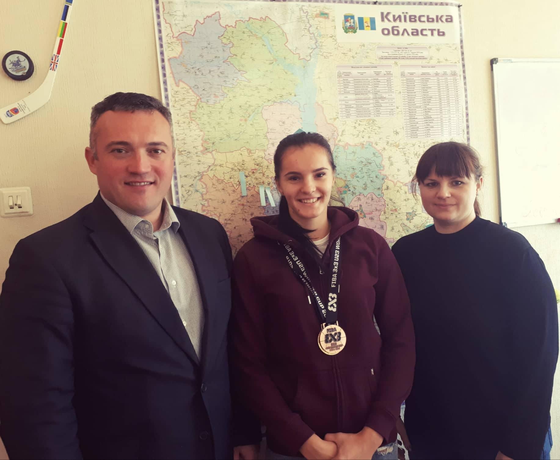 Сергій Тимофєєв зустрівся з Вікторією Кондусь. Фото
