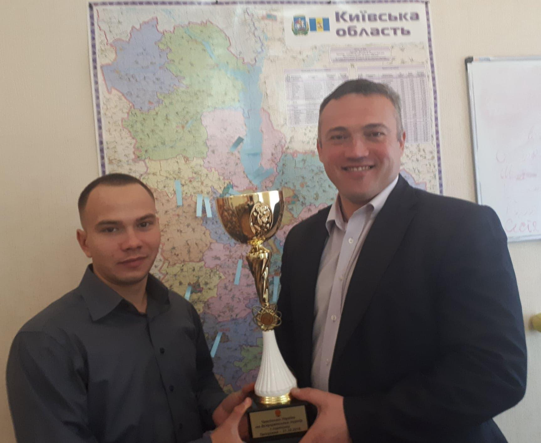 Сергій Тимофєєв зустрівся з Олександром Васюком. Фото