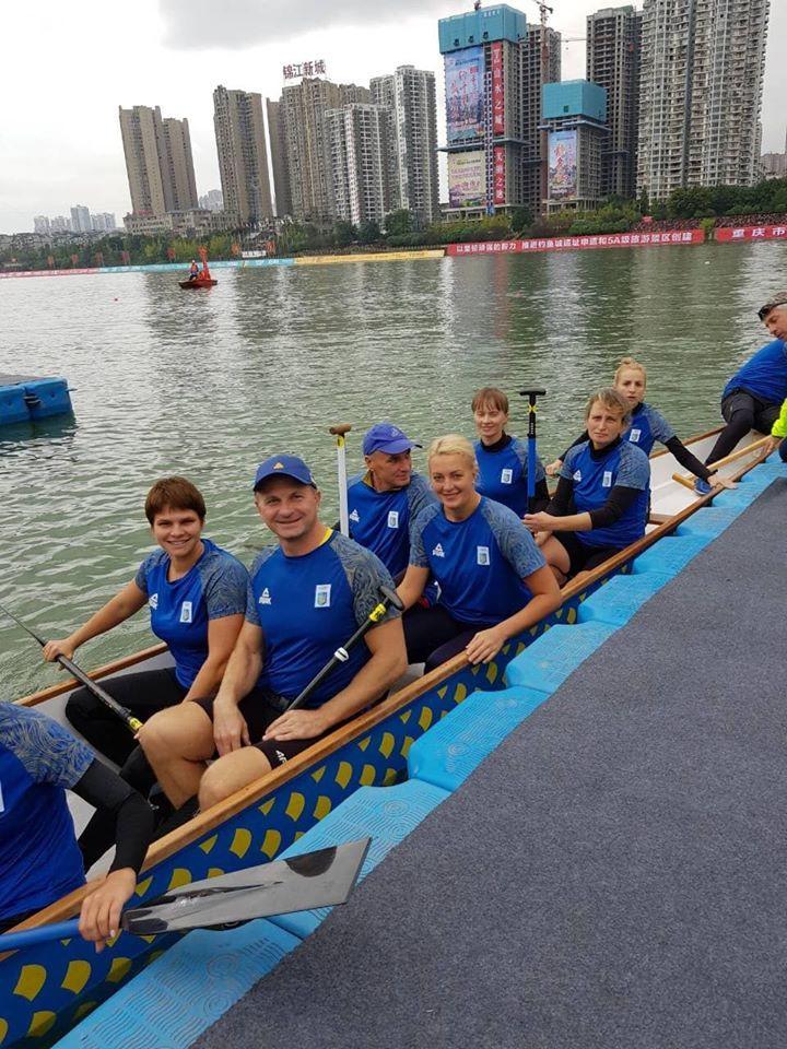 Кубок світу з веслування на човнах Дракон, Китай. Фото