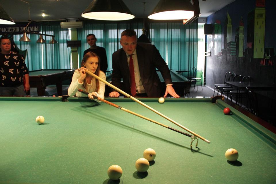 Турнір з більярду, Білогородка. Фото