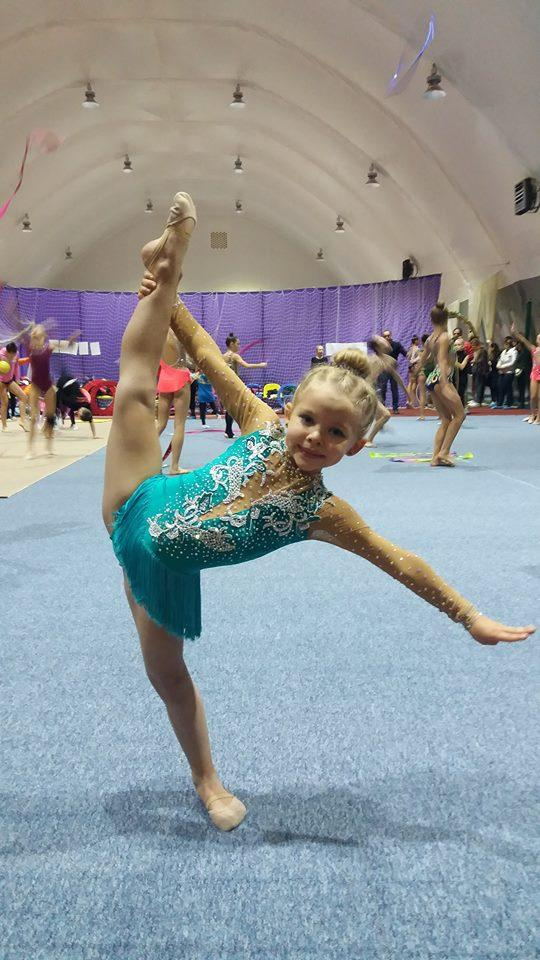 Змагання  з художньої гімнастики «Діамант». Фото