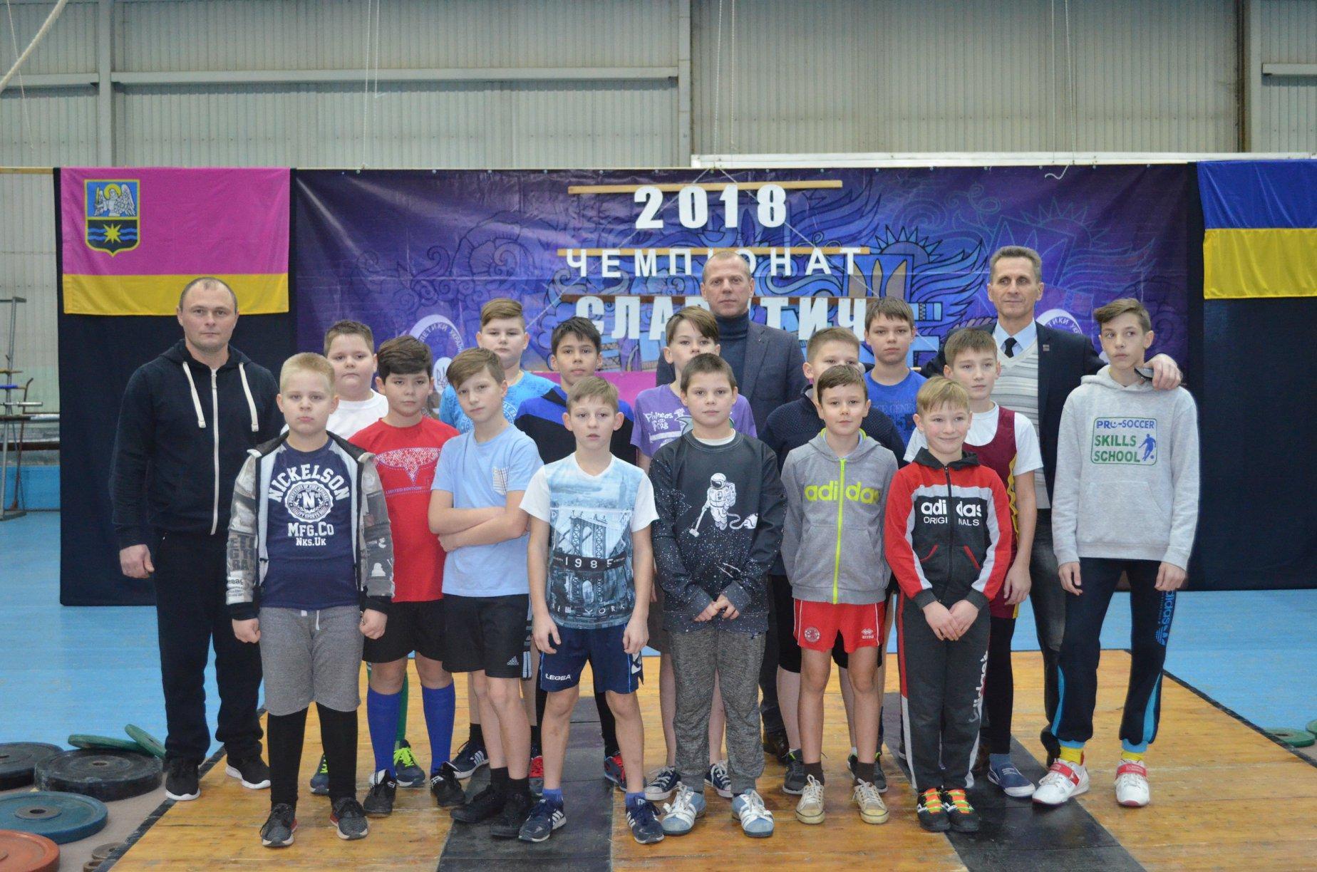 Відкритий чемпіонат Славутича з важкої атлетики. Фото