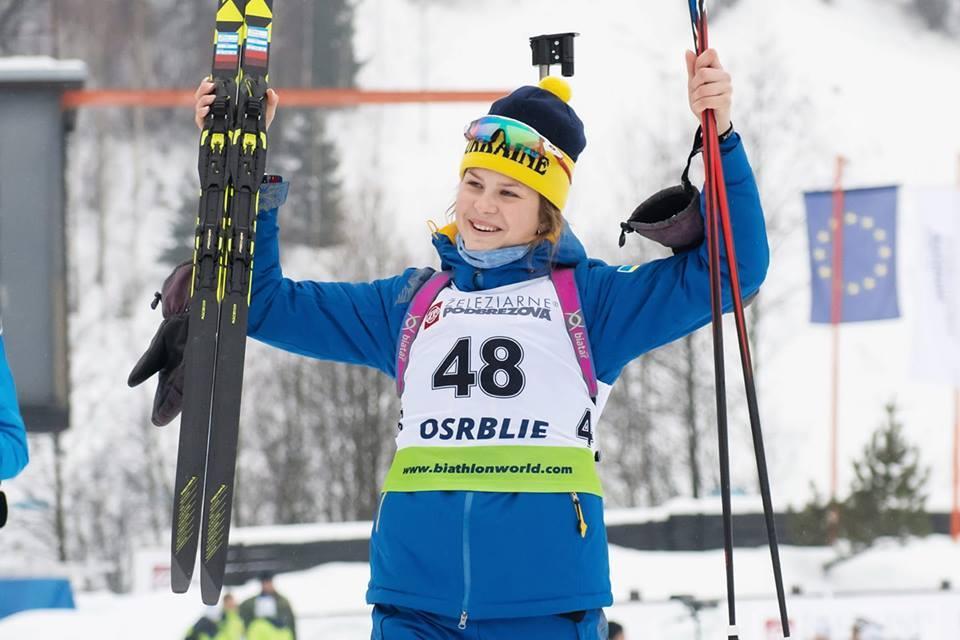 Катерина Бех - чемпіонка світу з біатлону. Фото