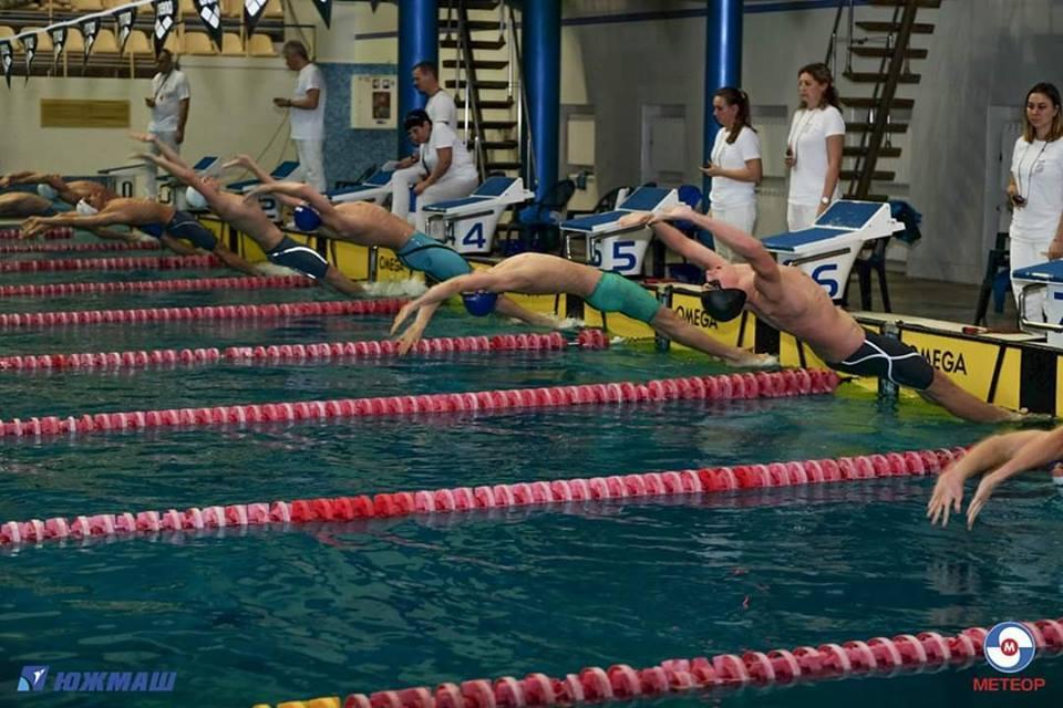 Чемпіонат України з плавання, Дніпро. Фото