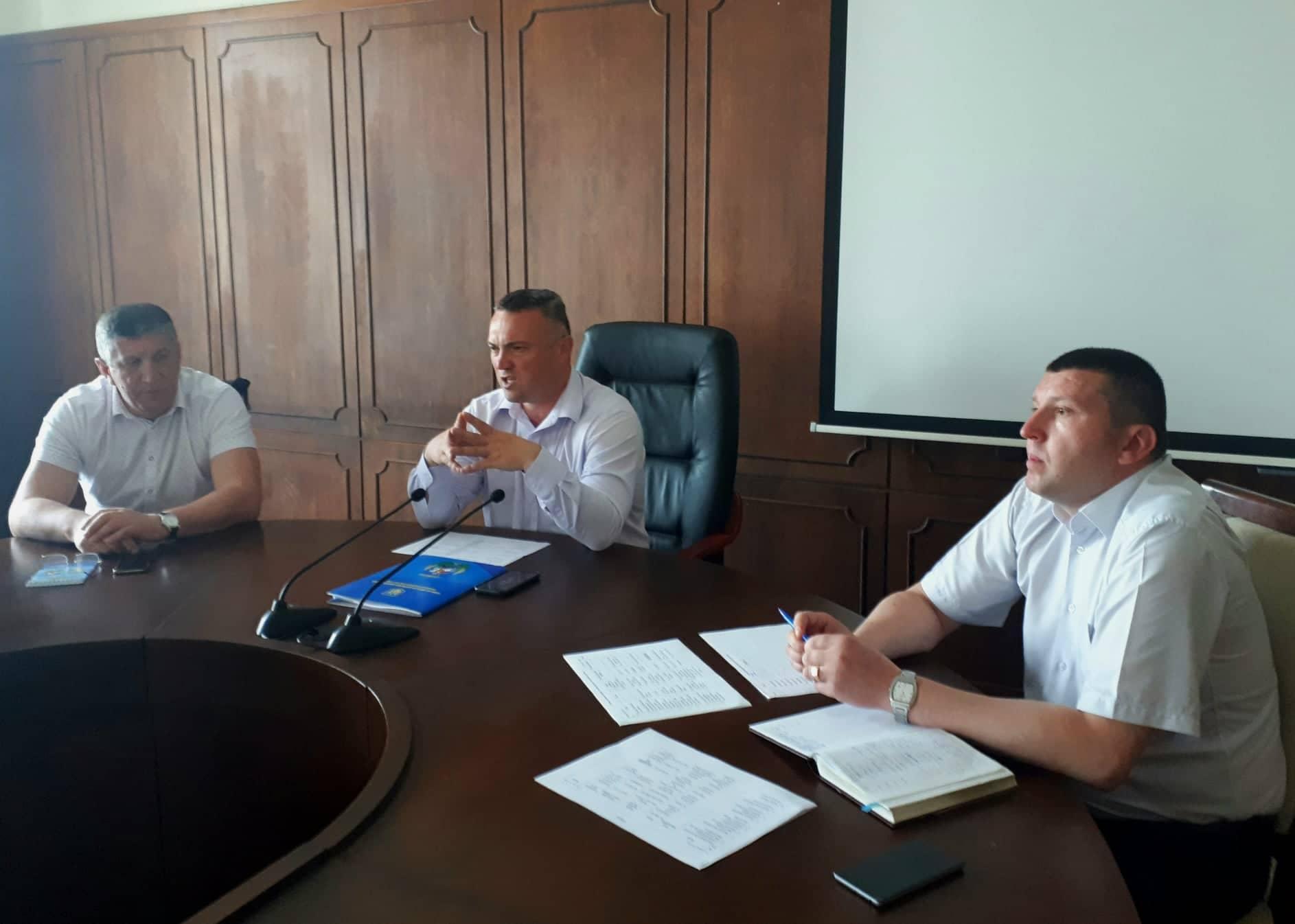 Нарада з питань розвитку волейболу на Київщині. Фото