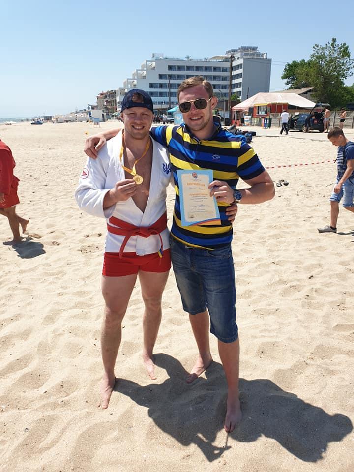 Чемпіонат України з пляжного самбо, Затока. Фото