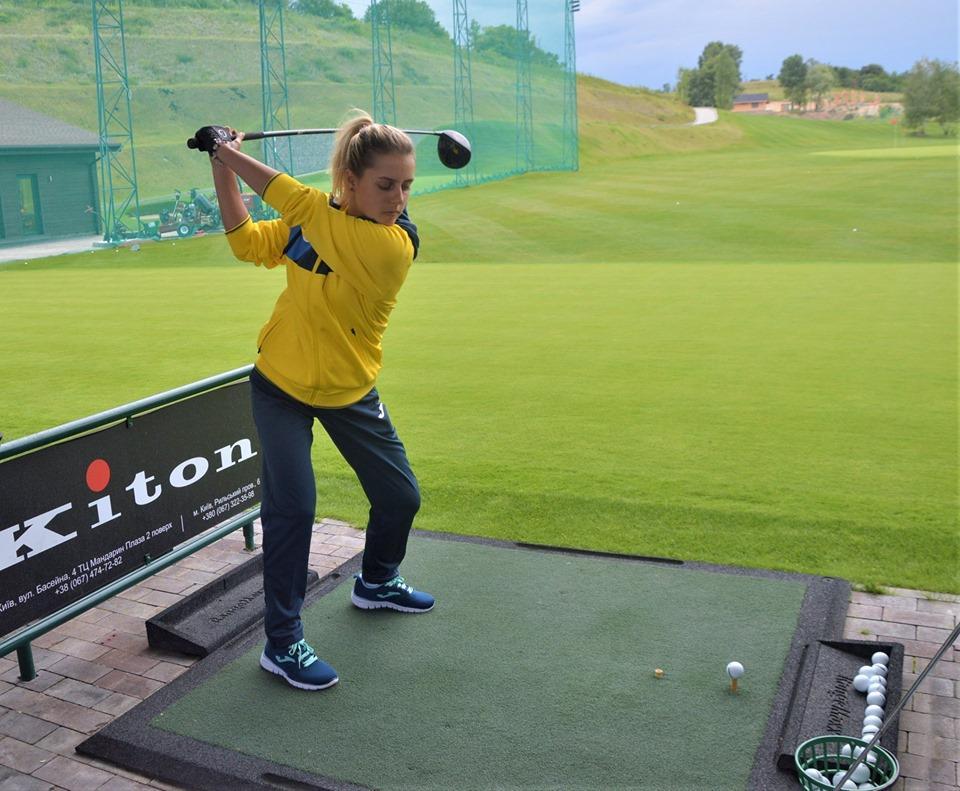 Відкрите тренування національної збірної України з гольфу. Фото
