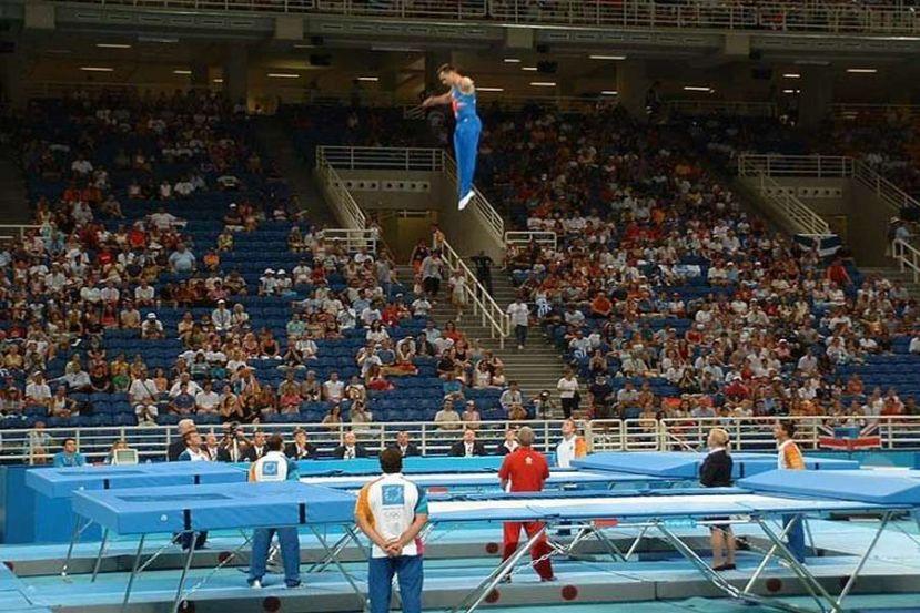 Чемпіонат України зі стрибків на батуті, Одеса. Фото