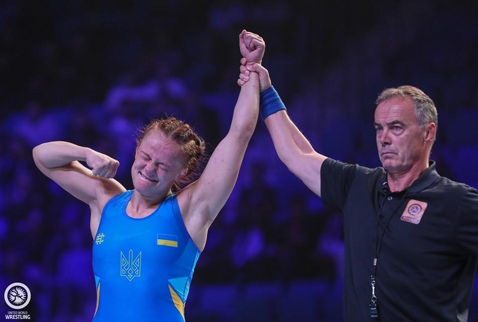 Ірина Коляденко стає віце-чемпіонкою світу з боротьби. Фото