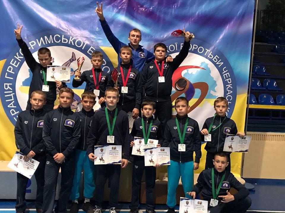 Турнір з греко-римської боротьби пам'яті Дмитра Лисуна. Фото
