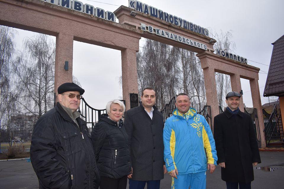 Сергій Тимофєєв, інспекція спортивної інфраструктури Фастова. Фото