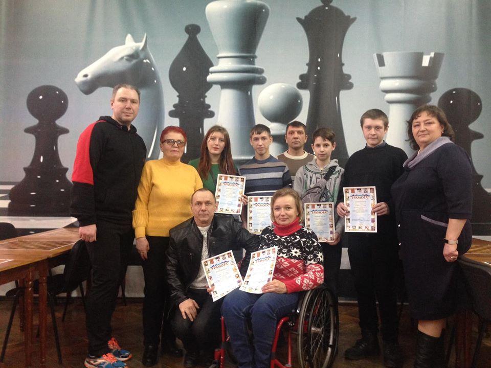 Чемпіонат Київщини з шашок серед інвалідів, Біла Церква. Фото