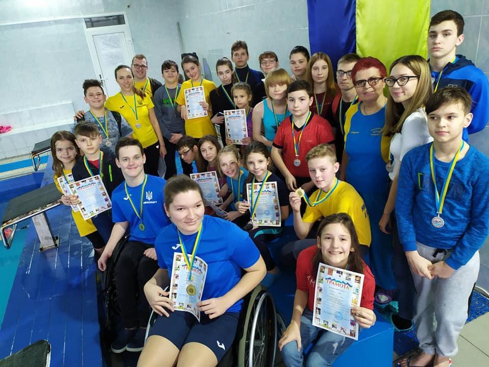 Чемпіонат з плавання серед спортсменів з вадами, Вишгород. Фото