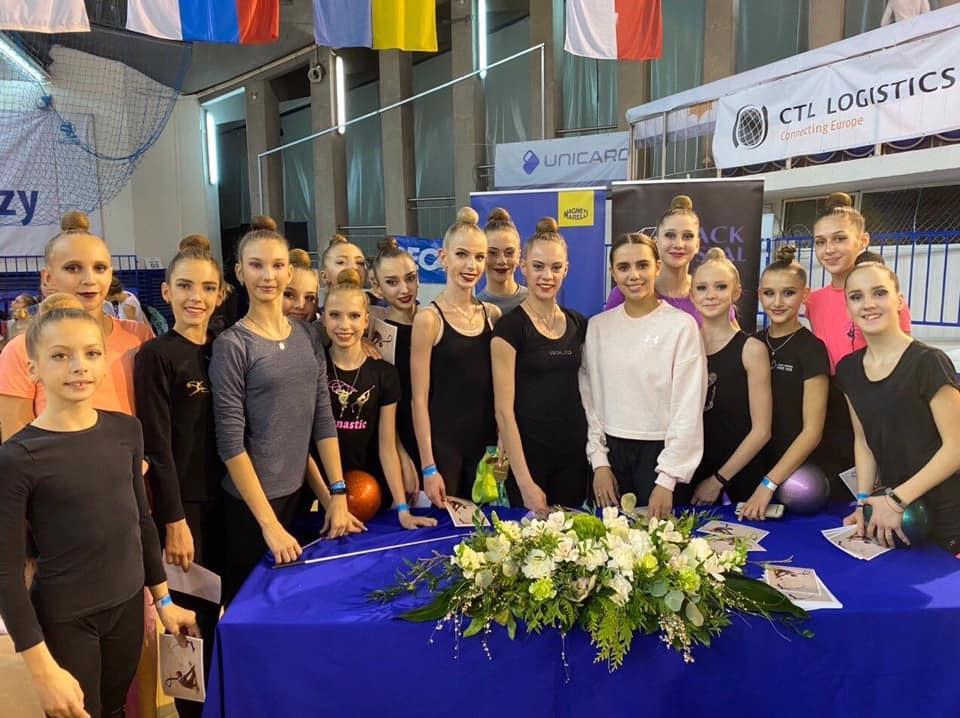 Змагання з художньої гімнастики, Польща. Фото