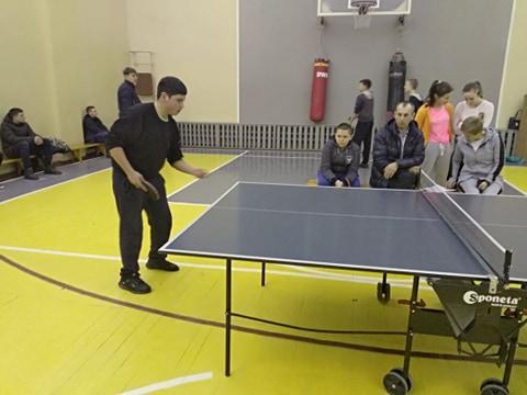 Першість Володарського району з настільного тенісу. фото