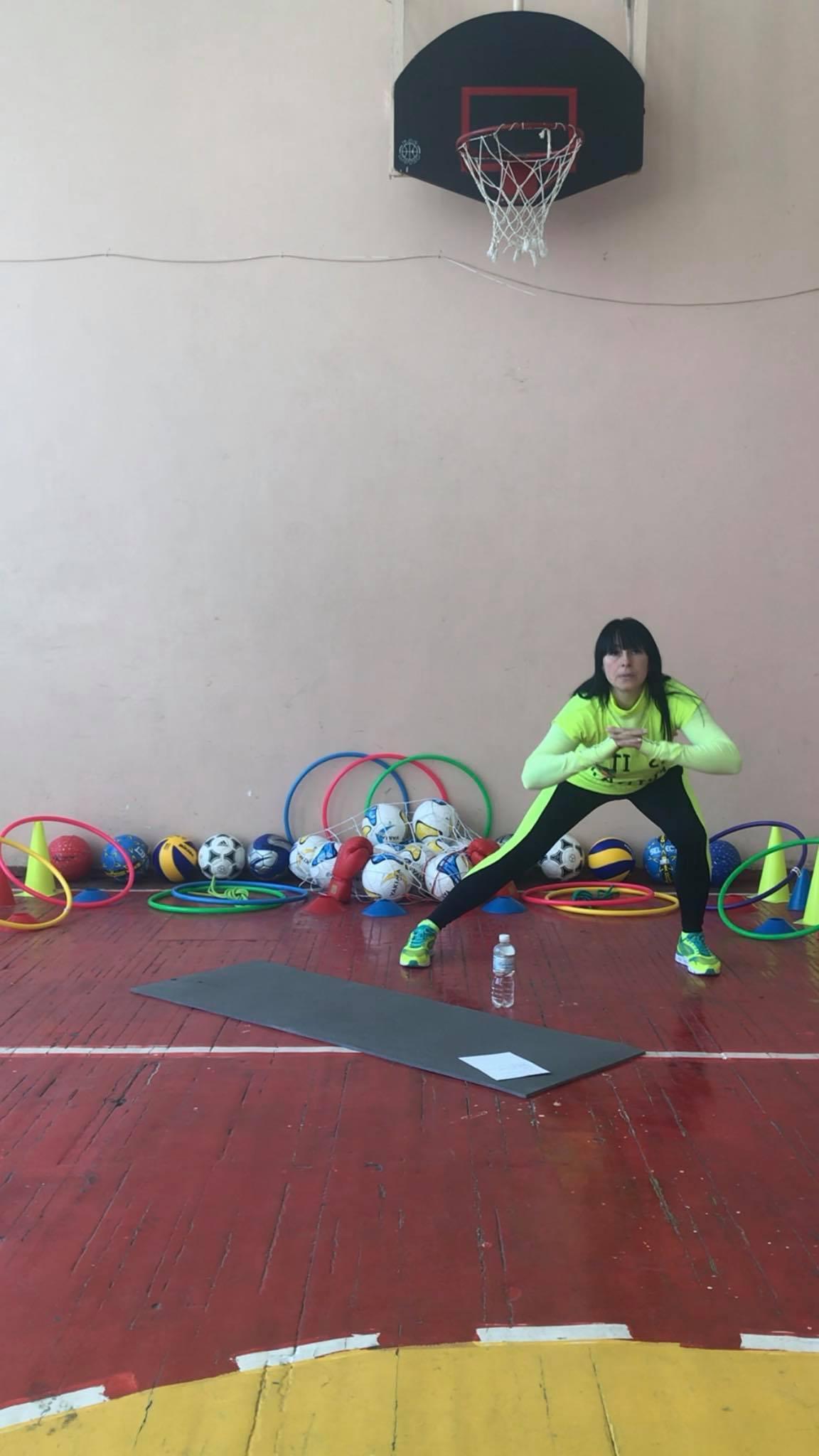 Спорт вдома від Вікторії Кагорпольцевої. Фото