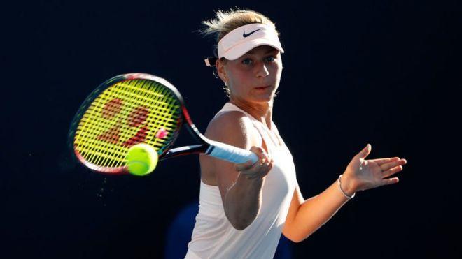 Марта Костюк, теніс. Фото